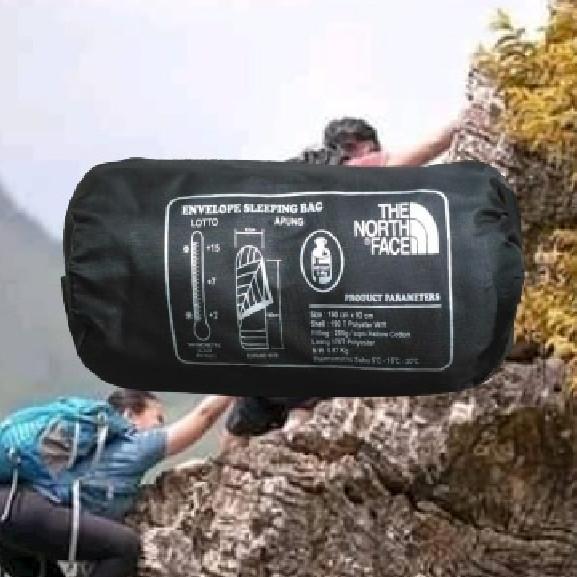 Foto Produk Sleeping Bag Ultra Light Plus Bantal Kepala - Merah dari Lapak_KQ5 Jakarta