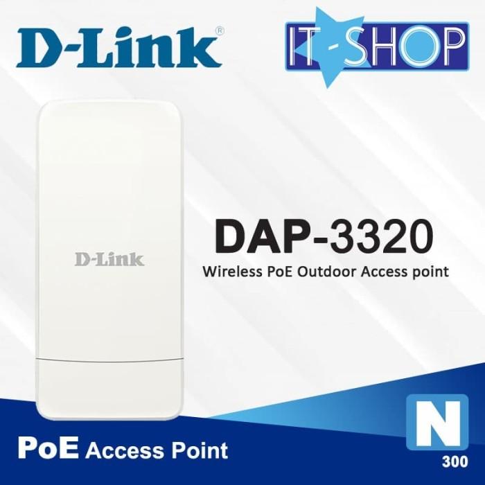 Foto Produk D-Link Acess Point DAP-3320/E [Outdoor] dari IT-SHOP-ONLINE