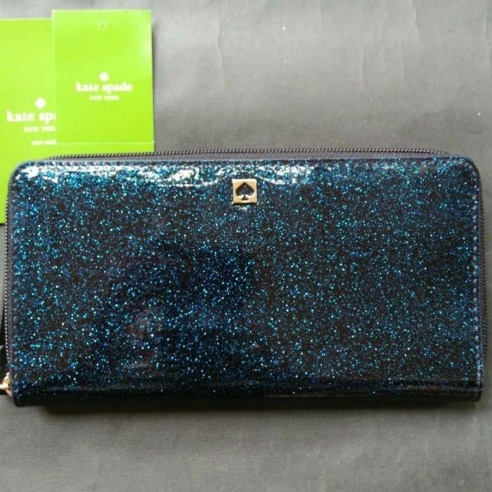 Foto Produk sale! ks neda sparkling silver, navy. dompet ks original neda dari Laristie