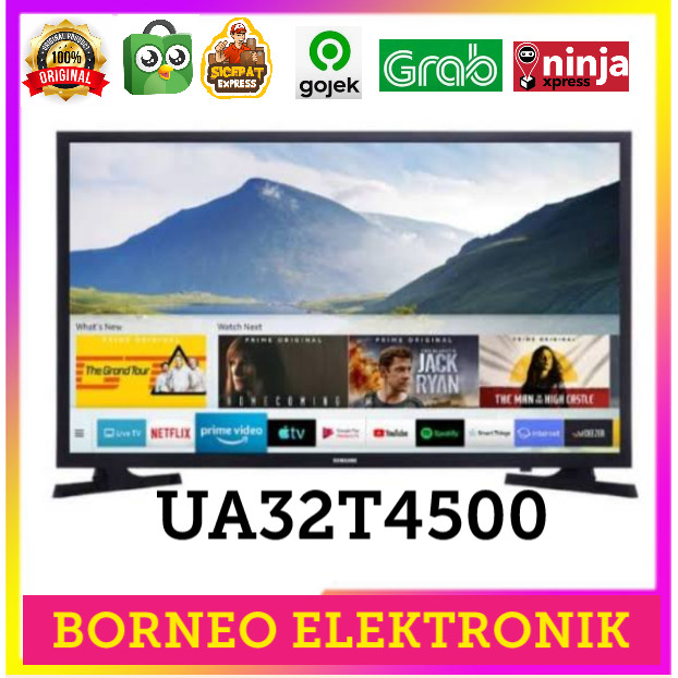 Jual Samsung Smart Tv Ua32t4500 Connect Wifi Youtube Kota Bekasi Borneo Elektronik99 Tokopedia