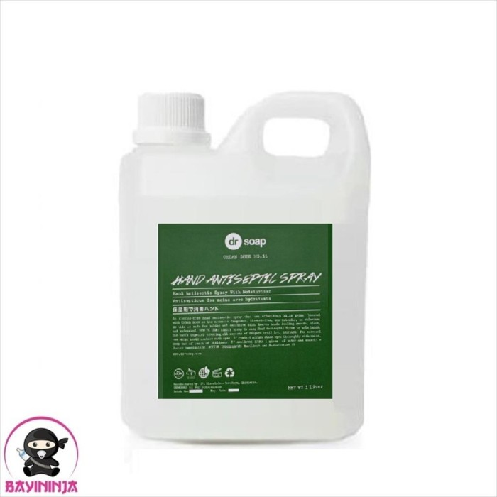 Foto Produk DR SOAP Hand Antiseptic Spray Urban Shee 1 Liter dari BAYININJA