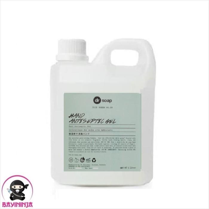 Foto Produk DR SOAP Hand Antiseptic Gel Iris Green 1 Liter dari BAYININJA
