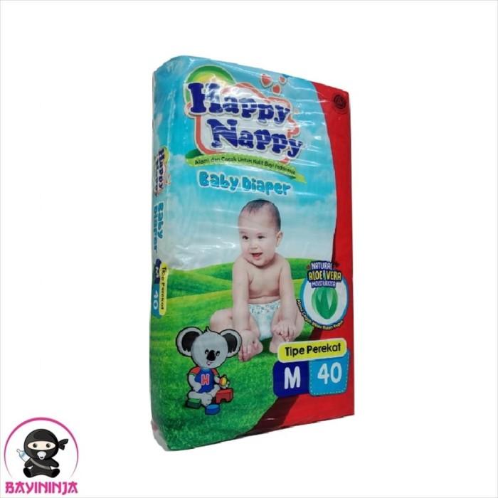 Foto Produk HAPPY NAPPY Baby Diapers Popok Perekat M40 M 40 dari BAYININJA