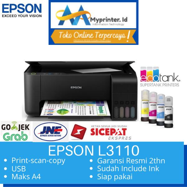 Foto Produk Printer Epson L3110 All in one AIO pengganti L360 L360 dari myprinter.id