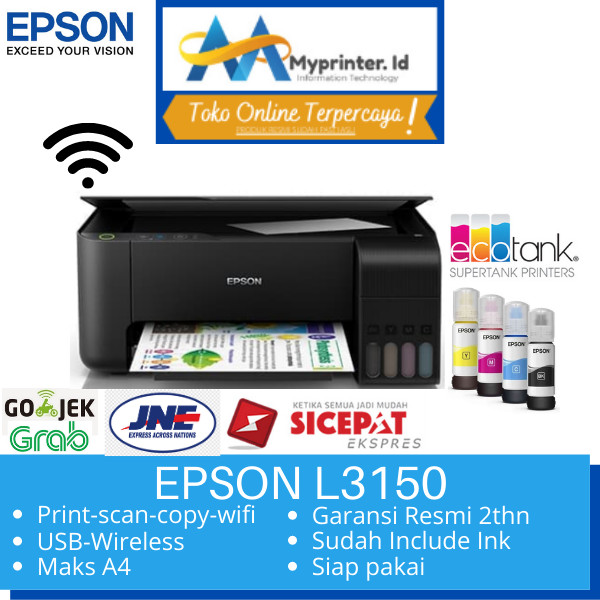 Foto Produk Printer Epson L3150 wifi direct pengganti L405 dari myprinter.id