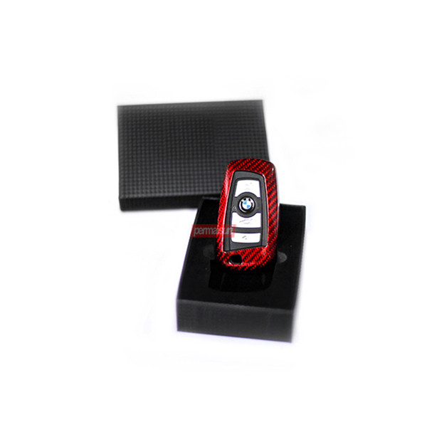 Foto Produk Permaisuri Key Case Carbon BMW Type 2 - Black - Merah dari PERMAISURI