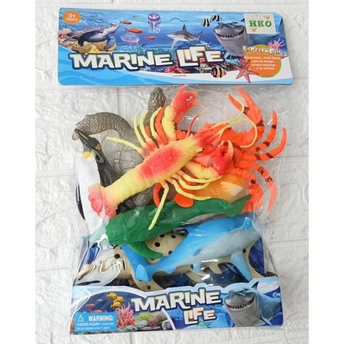 Foto Produk Marine Life 661-38 - Mainan Figure Miniatur Hewan Laut Sea Animal dari ANEKA MAINAN ONLINE