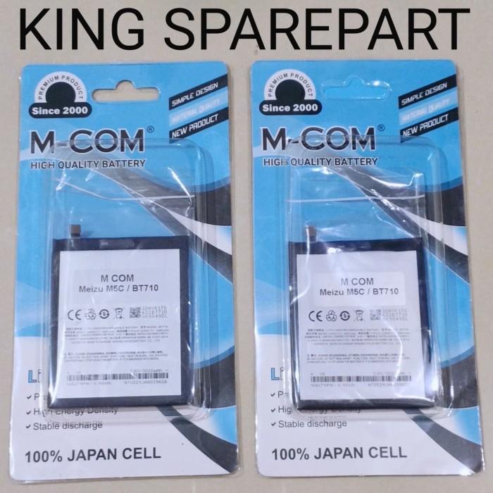 Foto Produk BATERAI BATRE BATTERY MEIZU M5C BT710 DOUBLE POWER MCOM dari KING sparepart