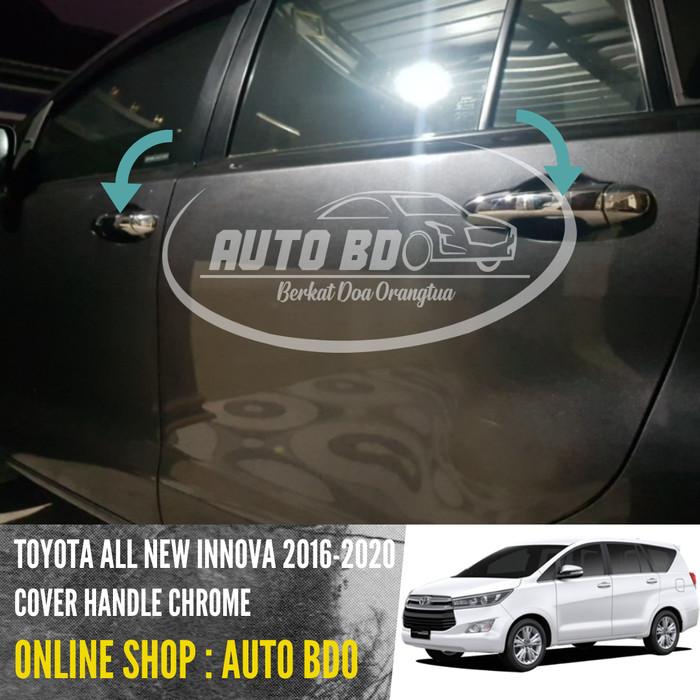 Foto Produk Cover Handle Chrome All New Innova Reborn 2016 - 2018 dari Auto BDO Berkat Doa Ortu