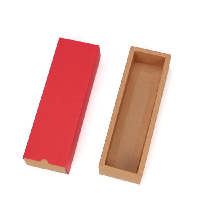 Foto Produk KOTAK KUE SLOT P29,6cm , BOX COOKIES , KOTAK SOUVENIR , GIFT BOX - Merah dari KAYO