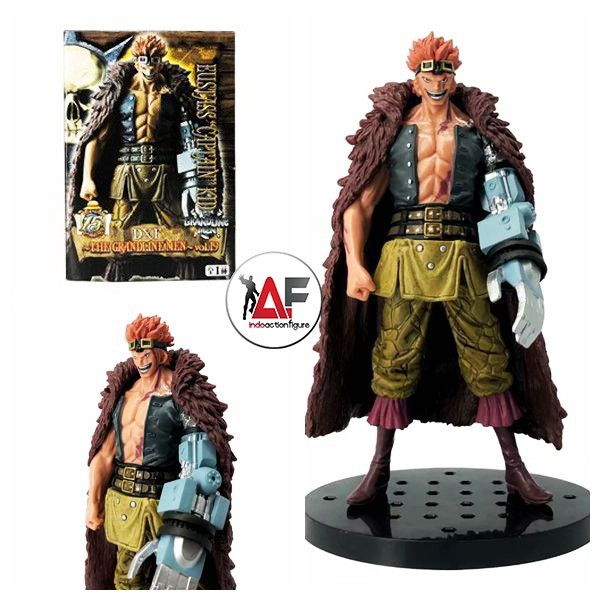 Foto Produk Action figure One Piece Eustass Captain Kid DXF The Grandline Men GLM dari IndoActionFigure