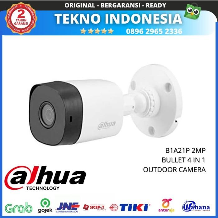 Jual Kamera CCTV DAHUA COOPER B1A21P 2MP BULLET 4 IN 1