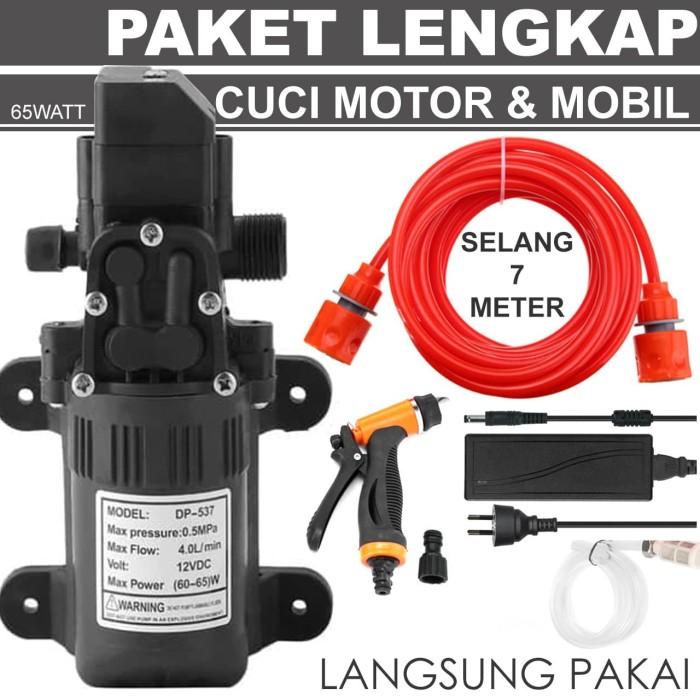 Jual Paket A Lengkap Pompa Air High Pressure Cuci Ac Cuci Motor Mobil Kota Depok Tukura Tokopedia