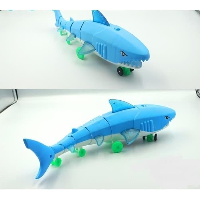 Foto Produk Mainan Baby SHARK Ikan HIU Lampu Musik 66-005194 dari ANEKA MAINAN ONLINE