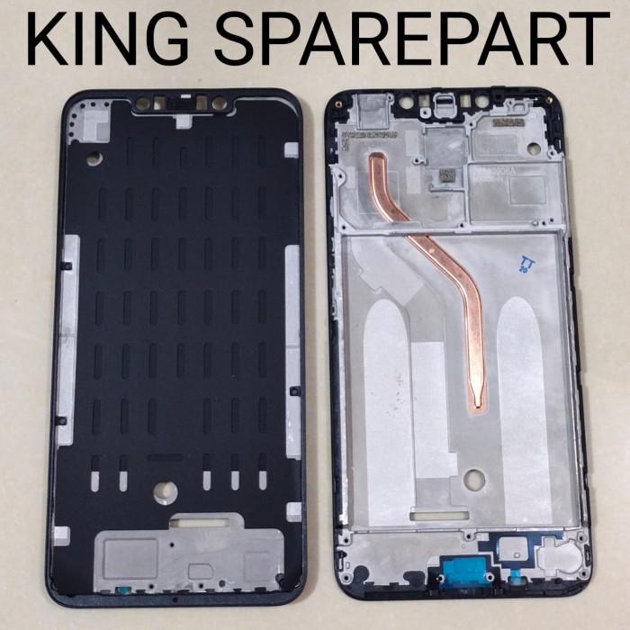 Foto Produk FRAME DUDUKAN LCD TULANG TENGAH XIAOMI POCOPHONE F1 ORIGINAL dari KING sparepart