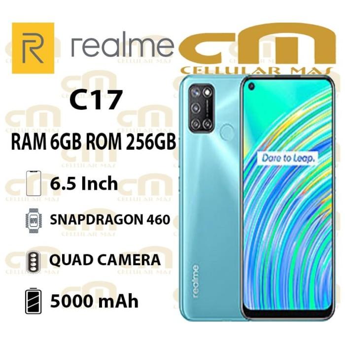 Foto Produk Realme C17 6/256 RAM 6GB ROM 256GB GARANSI RESMI REALME - Hijau dari Cellular Mas