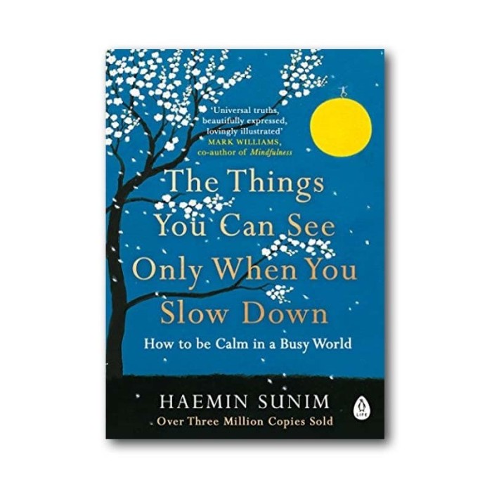 Foto Produk The Things You Can See Only When You Slow Down dari Periplus
