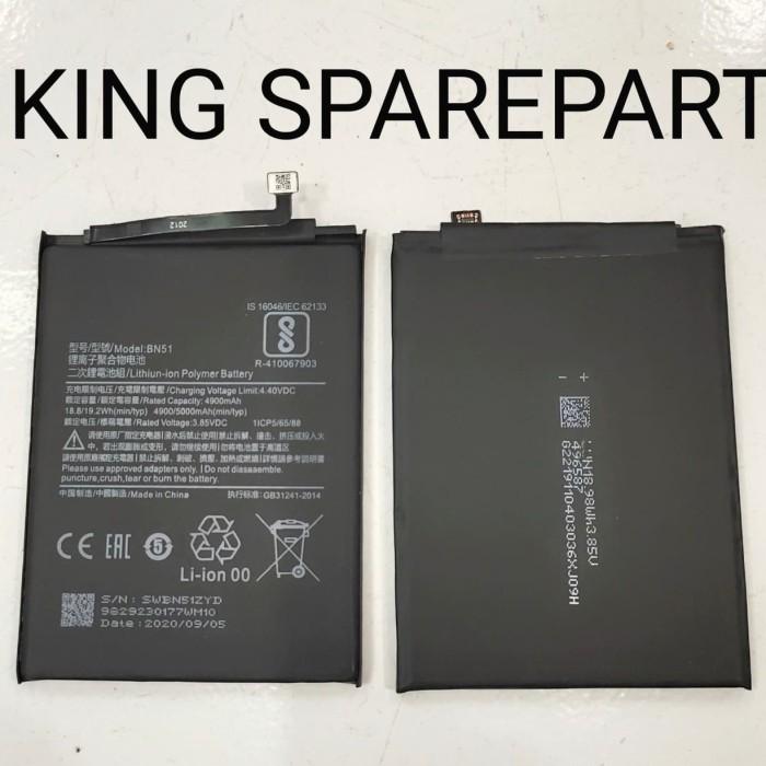 Foto Produk BATERAI BATRE BATTERY BATERE XIAOMI REDMI 8 BN51 ORIGINAL dari KING sparepart