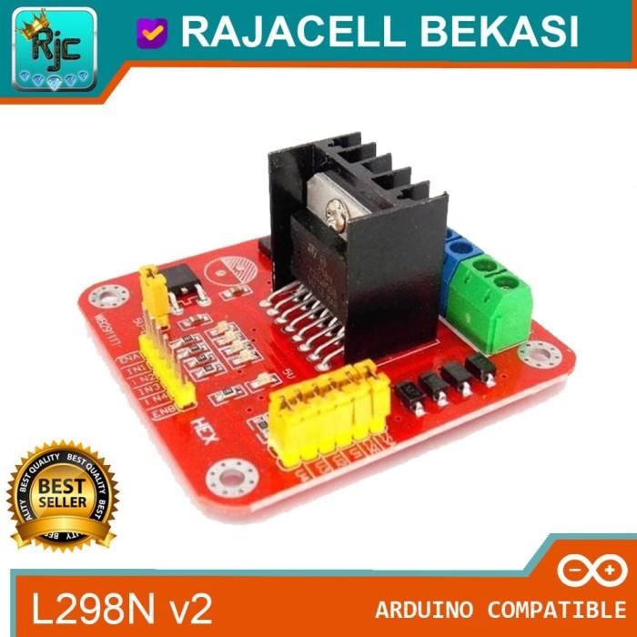 Foto Produk New L298N Dual Motor Driver H Bridge 2A High Quality Controller dari RAJACELL BEKASI