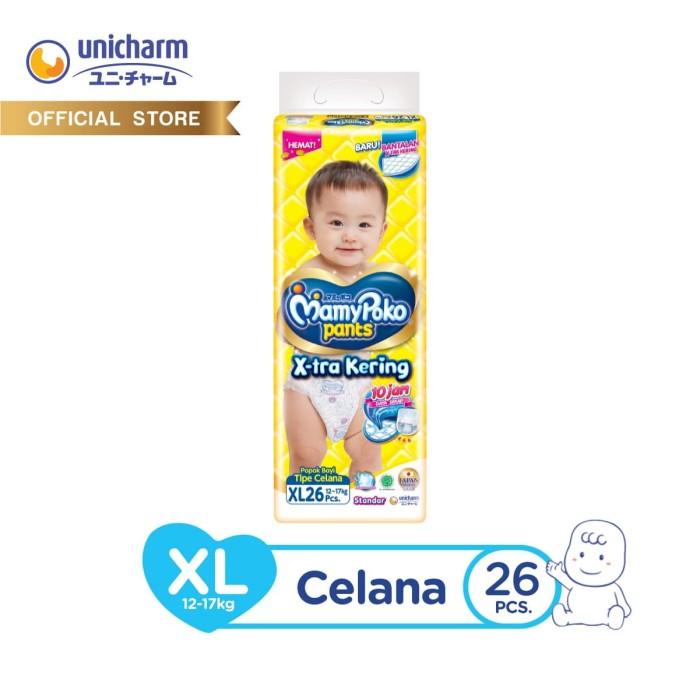 Foto Produk MamyPoko Popok Celana X-tra Kering - XL 26 dari Unicharm Official Store