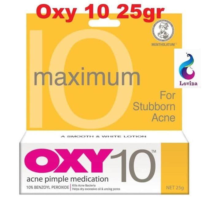 Oxy 10 25gr Acne Pimple Medication Obat Jerawat Oxy10