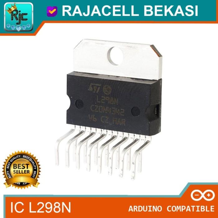 Foto Produk IC L298N ZIP-15 Chip Motor Driver Full Dual Channel H-Bridge dari RAJACELL BEKASI