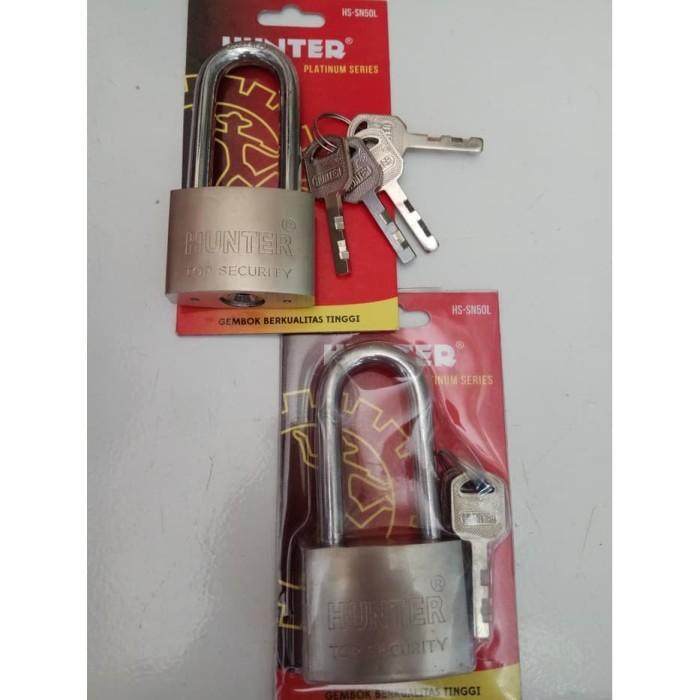 Foto Produk Gembok Hunter Leher Panjang Ukuran 50 dari good_price store 2