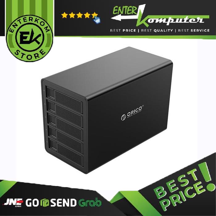 "Foto Produk Orico 3559U3 5 Bay 3.5"" & 2.5"" SATA3.0 USB3.0 HDD Enclosure dari Enter Komputer Official"