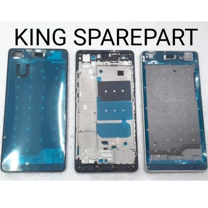 Foto Produk FRAME DUDUKAN LCD TULANG TENGAH HUAWEI P8 LITE ORIGINAL dari KING sparepart