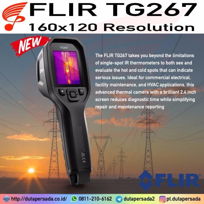 Foto Produk Flir TG267 Thermal Imaging Camera replace TG165 TG167 TG275 C2 C3 C5 dari DUTA PERSADA Instruments