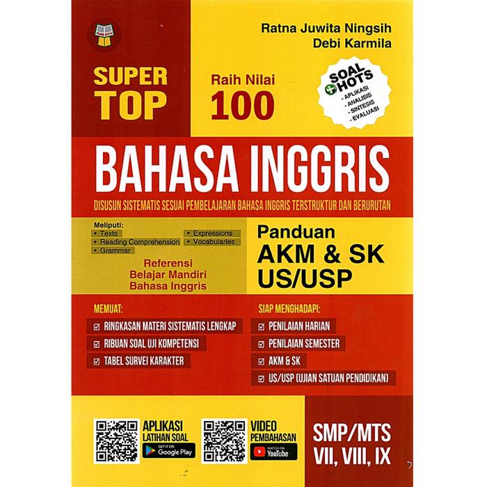 Jual Buku Super Top Bahasa Inggris Panduan Akm Smp Mts Kelas Vii Viii Ix Kab Tangerang Mat Store Tokopedia