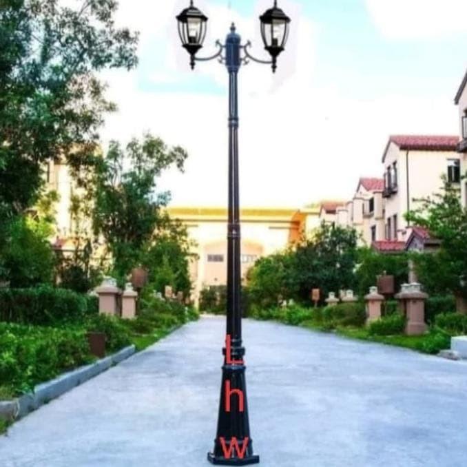 Jual Lampu Hias Taman Tiang Cab 2 4013 Dekorasi Outdoor Taman Halaman Rumah Kota Bekasi Indonesiaoutlet Tokopedia