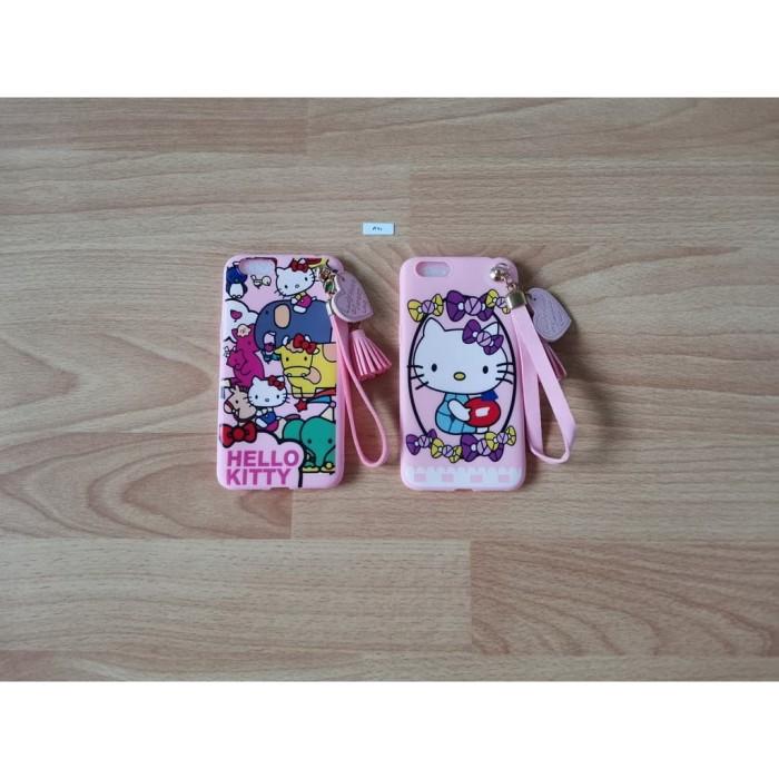 Foto Produk Soft Case Hello Kitty + Gantungan - Oppo A71 dari Golden Rabbit Acc