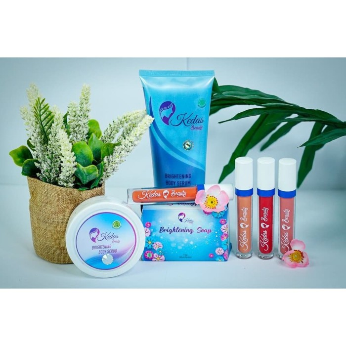 Jual Kedas Beauty Hand Body Serum Scrub Ber Bpom Logo Halal Kota Makassar Rahmi Store Id Tokopedia