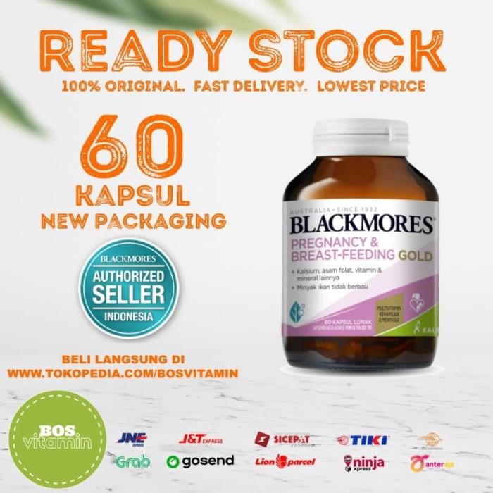 Foto Produk Blackmores Pregnancy and Breastfeeding Gold BPOM Kalbe - 60 Kapsul dari Bos Vitamin