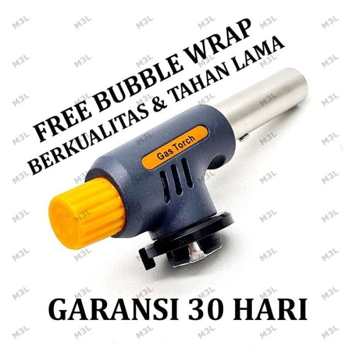 Foto Produk Portable Gas Torch / BBQ Blow Torch / Flame Gun / Korek dari M3L