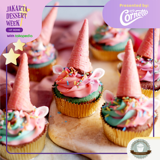Foto Produk Magical Unicornetto Cupcakes dari Cupcakes Company