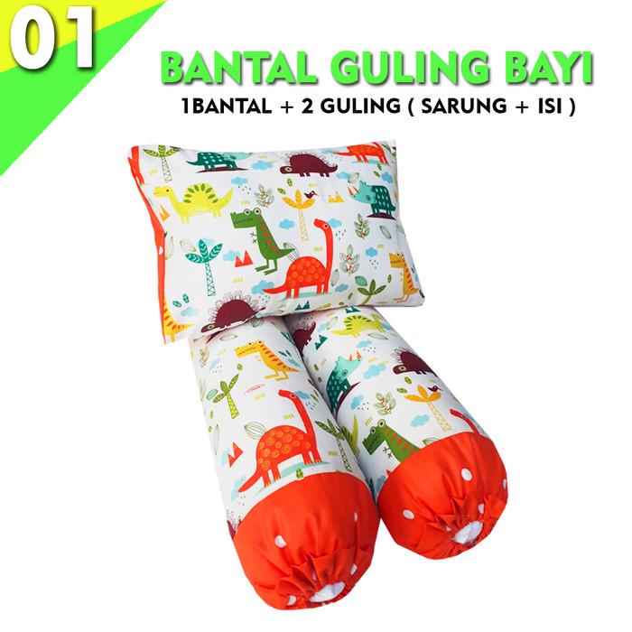 Foto Produk Bantal + Guling Bayi ( SARUNG + ISI ) - BGB 01 dari pondok aren shop
