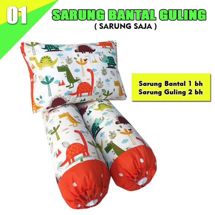 Foto Produk SARUNG BANTAL GULING BAYI - SARUNG BGB 01 dari pondok aren shop