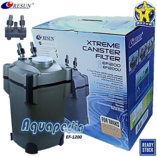 Jual RESUN EF-1200 Aquarium Xtreme External Canister ...
