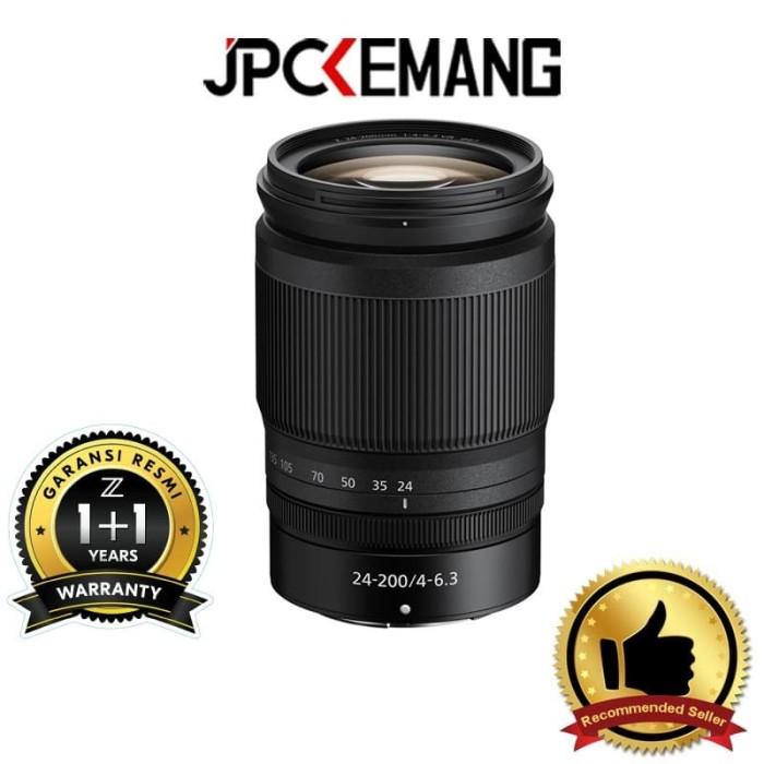 Foto Produk Nikon NIKKOR Z 24-200mm f4-6.3 VR Nikon Z 24-200mm GARANSI RESMI dari JPCKemang