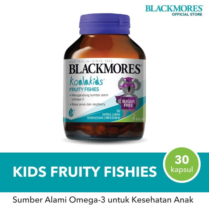 Foto Produk Blackmores Kids Fruity Fishies (30) dari Blackmores Wellness