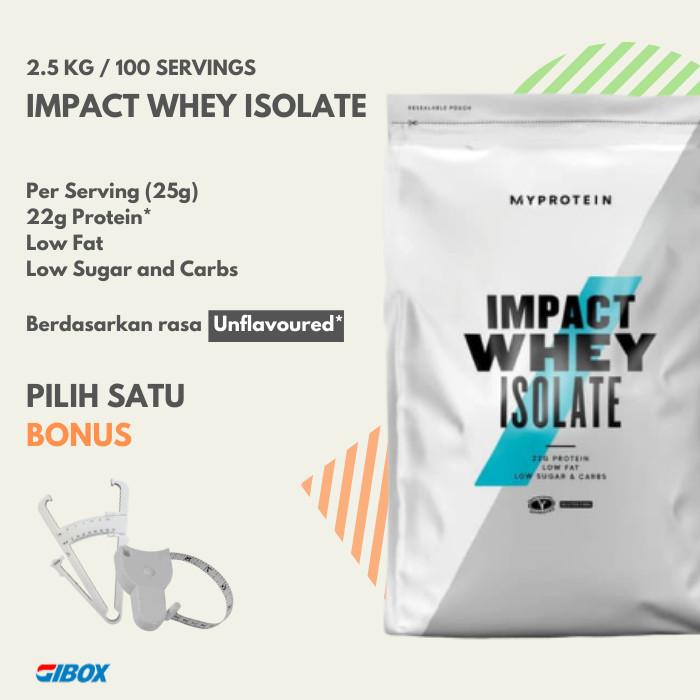 Jual Impact Whey Protein Isolate 2 5kg 100 Servings 5 5lbs Kota Semarang Gibox Tokopedia