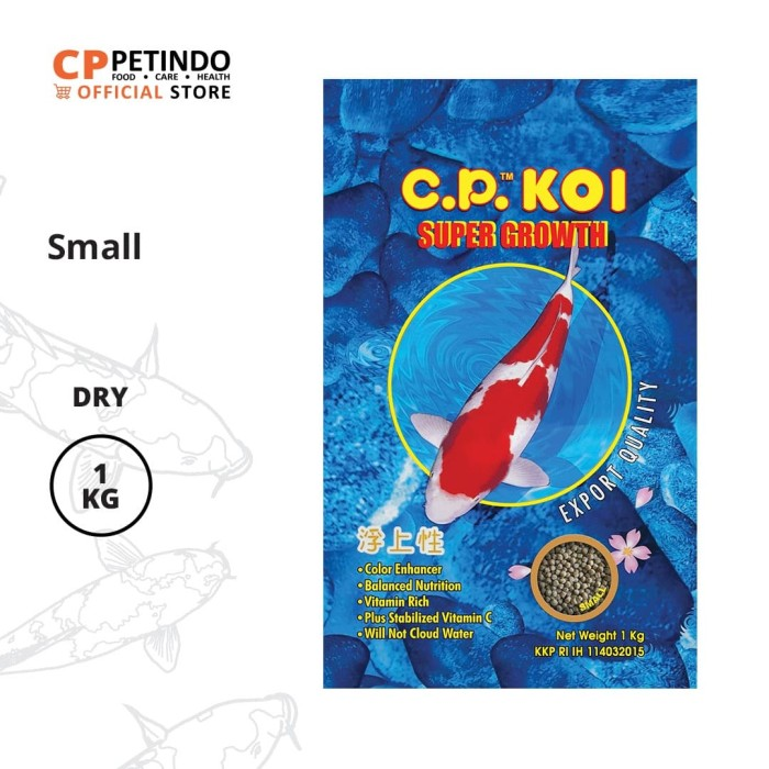 Promo Cppetindo Cp Koi 2 Mm Fish Food 1 Kg Jakarta Pusat Cppetindo Tokopedia