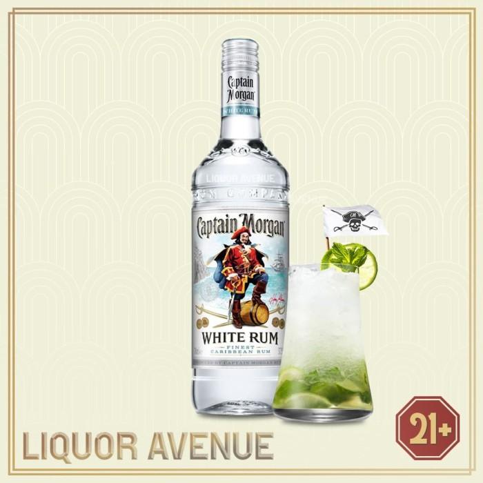 Foto Produk Captain Morgan White Rum 750 ML dari Liquor_Avenue