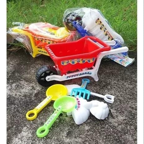 Foto Produk Mainan Gerobak Pasir NO.LP1 mainan cowok dari ANEKA MAINAN ONLINE
