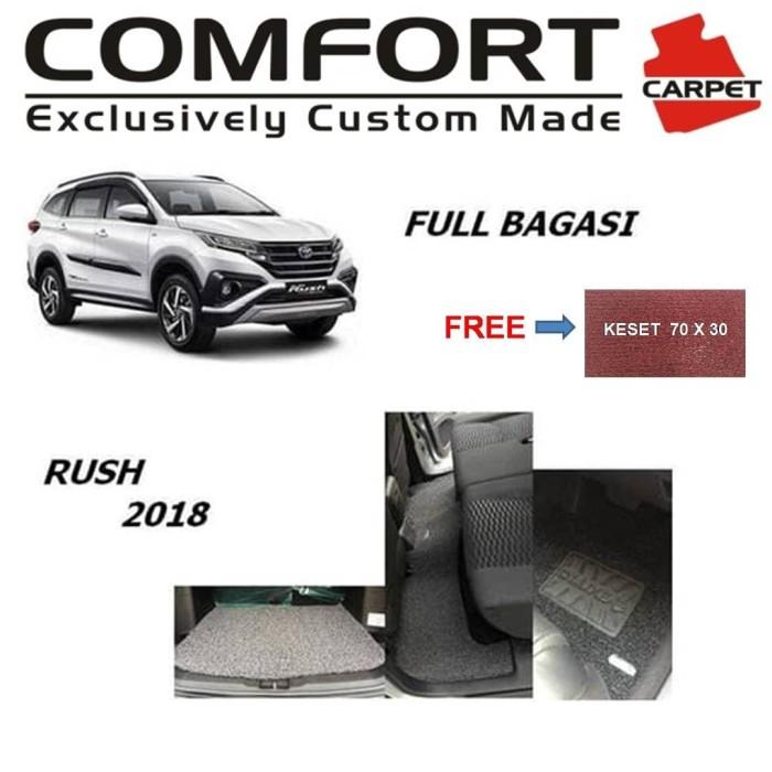 Foto Produk Karpet Comfort Deluxe Khusus Rush 2018 3 Baris + Bagasi dari Boss Aksesoris Mobil