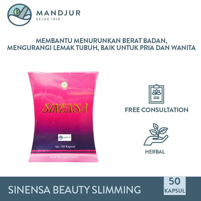 Foto Produk Sinensa Beauty Slim Herbal Isi 50 kapsul - Obat Pelangsing Herbal dari mandjur