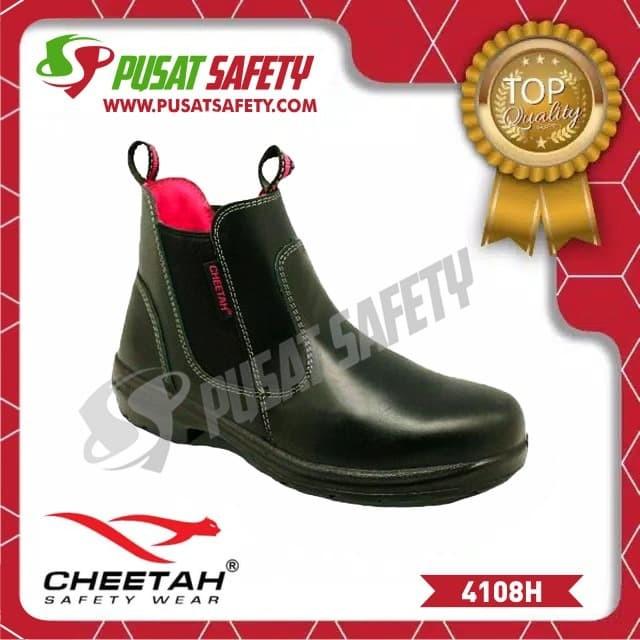 Foto Produk Sepatu Kerja Safety Cheetah 4108H - 35 dari Pusat Safety Online