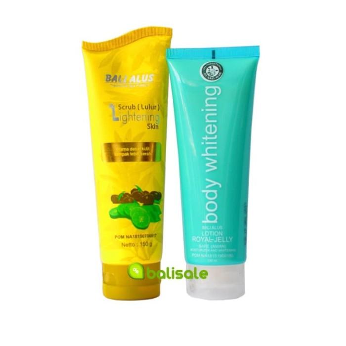 Foto Produk Paket Body Whitening + Scrub Lightening dari debalisale